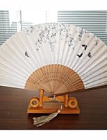 Ventilateurs et parasols-1 Pièce / Set EventailThème plage Thème jardin Thème papillon Thème classique Thème de conte de fées Vintage