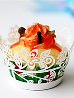 Перламутровая бумага Свадебные украшения-50Шт./наборСвадьба Для вечеринок Особые случаи День рождения Новорожденный Вечерние Вечеринка /