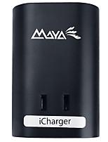 Maya 100u-b nosotros enchufe cargador del usb del teléfono 1 enchufes 2 puertos del usb 10a ac 100v-250v