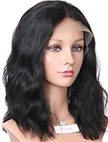 Hot Sale Wave Bob 13x6 Lace Front Wig Brazilian Human Hair Non-Remy 130 Density 8-16inch Full Lace Wig For Black Women