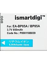 Ismartdigi BP85A 3.7V 850mAh Camera Battery for Samsung BP85A PL210 SH100 ST200 WB210