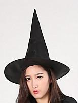 Шляпа ведьмы Хэллоуина шляпа волшебника шляпа Гарри Поттера чистая черная кепка