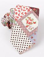 Men's Fashion Casual Floral Printing Narrow Version Tie