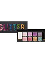 Professional 10 Colors Eyeshadow Palette Natural Long Lasting Women Eyes Makeup Highlight Glitter Eyeshadow Palette Hot Sale