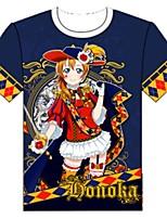 Ispirato da Ama vivi Cosplay Anime Costumi Cosplay Cosplay T-shirt Cartoni animati Manica corta Top Per Unisex
