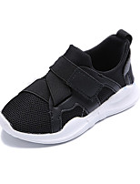 Girls' Sneakers Comfort Fall Winter Fabric Running Shoes Athletic Casual Dress Outdoor Magic Tape Flat Heel White Black Blushing Pink Flat