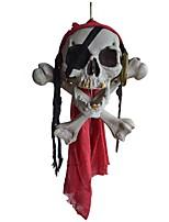 Halloween Ornament Mummy One Pony Head Skeleton Head