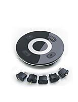 Chargeur USB 6 Ports Station de chargeur de bureau Avec interrupteur (s) Stand Dock Universel Adaptateur de charge