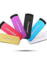 Caraele metal girando usb2.0 256gb flash drive u memory memory stick