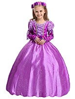 Girl's Princess Sofia DressA Long Sleeved Gauze Dress