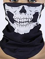 Бесшовные многофункциональные шарфы на велосипеде маски, чтобы сохранить теплые куски Хэллоуин костюмы череп изменил лицо полотенце