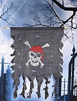 Хэллоуин реквизит пиратский флаг партия украшение флаг пиратский призрак череп фестиваль орнамент партия реквизит