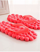 Damen Slippers & Flip-Flops Komfort PVC Sommer Normal Rot Flach