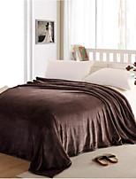Super Soft Solid Polyester Blankets