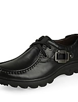 Men's Oxfords Driving Shoes Formal Shoes Comfort Fall Winter Real Leather Cowhide Nappa Leather Wedding Casual Outdoor Office & Career