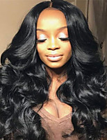 Lace Front Human Hair Wigs-Glueless 130% Density Brazilian Virgin Lace Wigs Big Body Wave Wig with Baby Hair For Black Woman 10-26 Inches