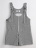 Boys' Stripes Overall & Jumpsuit-Cotton Summer