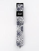 Homme Mode Coton Cravate,Imprimé Toutes les Saisons