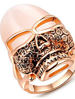 Couple Rings Band Rings Women's Fashion Luxury Elegant Creative Mask Opal Rings Party Daily Wedding Gift Jewelry