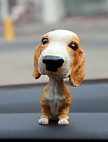 Diy автомобильный золото лабрадор brazzo крупный рогатый скот собака цыпленок собака чихуахао йоркшир золотой ретривер личность украшения