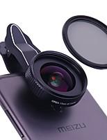 Orea lentille de téléphone portable 17mm grand angle cpl 18x macro avec clapet papillon lentille externe