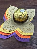 Papel Acetinado Decorações do casamento-50Peça/ConjuntoCasamento Festa Ocasião Especial Aniversário Recém-Nascido Festa/Eventos