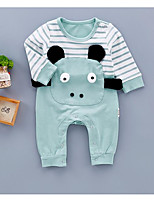 Baby Spot One-Pieces,Cotton Spring/Fall Long Sleeve