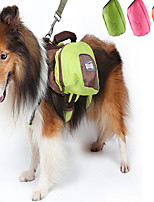 Cat Dog Carrier & Travel Backpack Pet Carrier Adjustable/Retractable Portable Double-Sided Breathable Foldable Soft Footprint/PawGreen