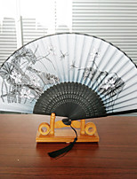 The Lotus Dragonfly Fan (Set Of 1) Random Pattern