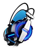 KOTION EACH G7000 Bandana Com Fio Fones Dinâmico Games Fone de ouvido Com Microfone Com controle de volume Fone de ouvido