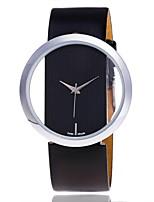 Жен. Нарядные часы Часы со скелетом Модные часы Наручные часы Уникальный творческий часы Повседневные часы Китайский Кварцевый PU Группа