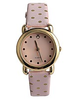 Women's Fashion Watch Wrist watch Japanese Quartz / PU Band Elegant Casual Pink