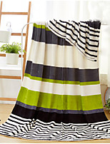 Супер мягкий Полоски Полиэфир одеяла
