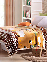 Flannel Geometric Cotton Blankets