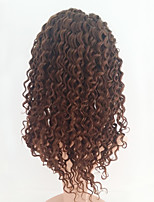 Kinky Curly #4 Lace Front Human Hair Wigs With Baby Hair Brazilian Remy Hair Lace Wigs