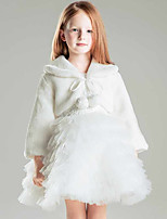 Kids' Wraps Shrugs Faux Fur Polyester Wedding Party/ Evening