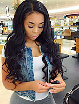 Natural Hairline 130% Density Body Wave Glueless Full Lace Hair Lace Wigs Peruvian 100% Virgin Human Hair Natural Color Full Lace Wigs with Baby Hair