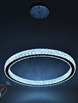 Dimmable led ring indoo потолочный светильник подвесные светильники современные люстры освещение люстра лампа с дистанционным управлением