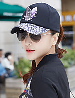 Women's Cotton Baseball Cap,Casual Solid Spring Summer Fall