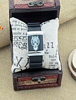 Муж. Жен. Модные часы Кварцевый Pезина Группа Мультфильмы Черный