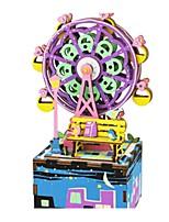 Caja de música Novedad Plásticos Madera