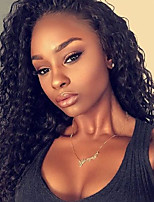 9A Kinky Curly Lace Front Human Hair Wigs for Black Woman 180% Density Brazilian Virgin Remy Hair Glueless Lace Wig with Baby Hair
