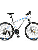 Горный велосипед Велоспорт 27 Скорость 26 дюймы/700CC MICROSHIFT 24 Двойной дисковый тормоз Передняя вилка с амортизациейРама из