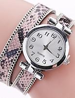 Mujer Reloj de Moda Reloj Pulsera Reloj creativo único Reloj Casual Chino Cuarzo Aleación Banda Encanto Casual Elegantes Blanco Azul Rojo