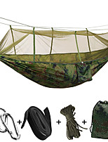 Camping Hammock Collapsible Ultra Light (UL) Nylon for Camping Camping / Hiking / Caving Outdoor