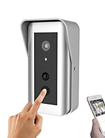 YanSe 960P Smart IP WIFI Doorbell With Battery Home System Wireless Visual Intercom Anti-Theft Doorbell  Camera (Tamper app alarm)