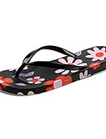 Women's Slippers & Flip-Flops Light Soles PU Summer Casual Flat Heel Blushing Pink Green Black Flat