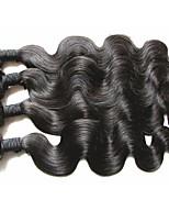 100% original brazilian virgin hair body wave 4bundles 400g lot unprocessed virgin human hair material natural hair color best quality last long time