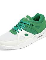 Для мужчин Спортивная обувь Удобная обувь Светодиодные подошвы Дышащая сетка Сетка Тюль Полиуретан Весна Осень Атлетический Беговая обувь