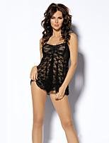 Ultra Sexy Vêtement de nuit Femme,Sexy Jacquard Nylon